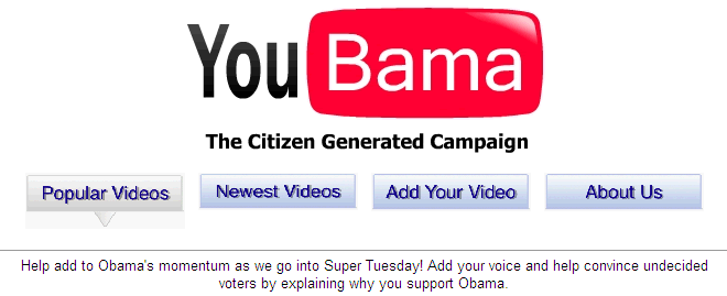 YouBama, The Citizen Generated Campaign