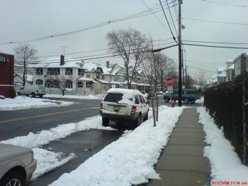 Nieve en la zona triestatal
