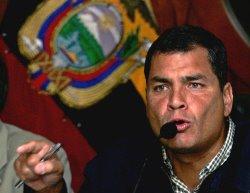 Rafael Correa -Presidente del Ecuador