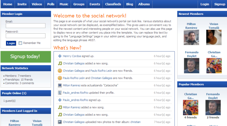 posonty-social-network