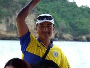 La felicidad de un ecuatoriano no se negocia.  Foto de un lojano y gracias a  http://www.flickr.com/photos/utpl/