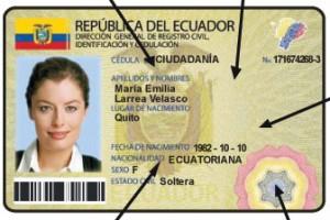 Logotipo de la nueva cédula digital para los ecuatorianos. Fuente: andes.info.ec