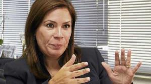 Embajadora Nathalie Cely -  Foto  Diario EL COMERCIO